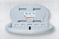 Baby Bear Oval Plastic Changing Station (Grey)