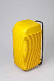 36 Cinema Seats with Rolling Cart (Yellow)