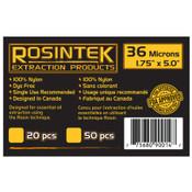 """REP Filter 36mic 1.75"""" x 5"""", Rosin bags (20 / pk)"""