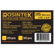 """REP Filter 115mic 1.75"""" x 5"""", Rosin Bags (20 / pk)"""