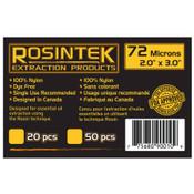 """REP Filter 72mic 2"""" x 3"""", Rosin Bags (20 / pk)"""