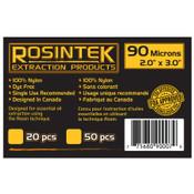 """REP Filter 90mic 2"""" x 3"""", Rosin Bags (20 / pk)"""