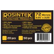 """REP Filter 72mic 3.25"""" x 3.25"""", Rosin Bags (20 / pk)"""