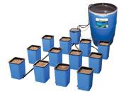 Flo-n-Gro® Ebb & Flow System - 12 Site, Hydroponic Grow System