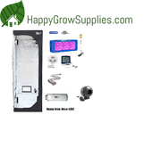 Happy Grow Hexa+LED2, 3ft X 3ft x 6.5ft LED Grow Kit