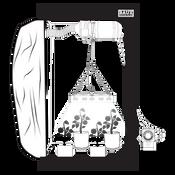 Baux Industries 2ft X 4ft LED Grow Kit
