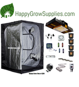 Happy Grow Hexa+LED4, 5ft X 5ft Spectrum King LED Grow Kit