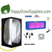 Happy Grow LEDBAS2, 3ft x 3ft LED Grow Kit