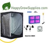Happy Grow LEDBAS3, 4ft x 4ft LED Grow Kit