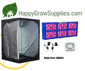 Happy Grow LEDBAS4, 4ft x 4ft LED Grow Kit