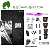 Happy Grow Hexa+LED6, 5ft x 5ft Kind LED Grow Kit