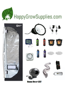 Happy Grow Hexa+LED7, 2ft X 2ft Spectrum King LED Grow Kit