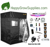 Happy Grow Hexa+LED8, 4ft X 4ft Kind LED Grow Kit