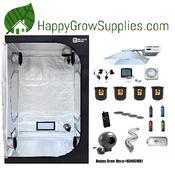 Happy Grow Hexa+NANOCMH1, 4ft X 4ft Nanolux CMH/LEC Grow Kit