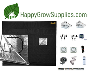 Happy Grow PRE2000DENANOG, 5ft x 5ft, 2000w DE Grow Kit