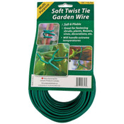 Soft Twist Tie Garden Wire, 55ft roll