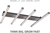 ThinkGrow, Model-V, 350w Full Spectrum / 10w Far Red, LED Fixture