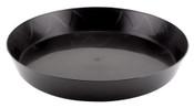 Gro Pro, 12 inch Heavy Duty Black Saucer, per ea.