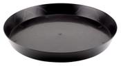Gro Pro, 16 inch Heavy Duty Black Saucer, per ea.