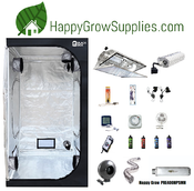 Happy Grow PRE400HPSMH, Premium 4ft x 4ft, 400w Grow Kit
