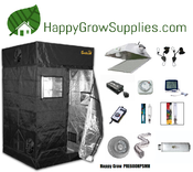Happy Grow PRE600HPSMH, 4ft x 4ft, 600w Premium Grow Kit