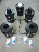 4 Bucket, Budget DWC System w/Reservoir