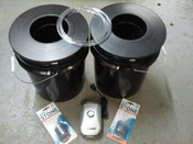 2 Bucket, 3.5 Gallon Budget DWC System