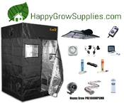 Happy Grow PRE1000HPSMH, 5ft X 5ft, 1000w Premium Grow Kit