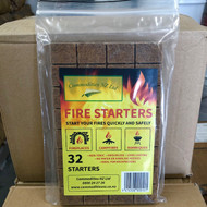 Commodities Premium Firelighters 32pkt