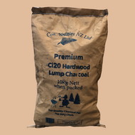 Commodities NZ Premium Hardwood Lump XL (Ci-20) Charcoal 10kg