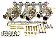 NISSAN DATSUN 45DCOE FAJS 6CYL L24 L26 L28 (Weber Type)TRIPLE CARBURETOR PACKAGE