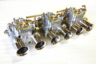 45DCOE FAJS (WEBER TYPE) TRIPLE CARBURETOR KIT