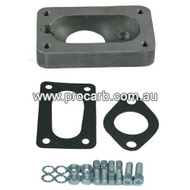 Ford Falcon 6cyl XC, XD & Cortina X-flow cast iron & alloy heads with 1bbl Carb 1976-81 to fit 2BBL Weber - Part # 10-2215