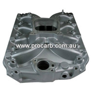 Holden Hi Winder Single Plane manifold 253-308 V8 with VN Heads to suit 4BBL SpreadBore or SquareBore - Part # 12-116