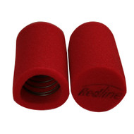RAM AIR SOX REDLINE AIR FILTER WASHABLE FOAM 65mm x 100mm SU WEBER FAJS DCOE RS405/2