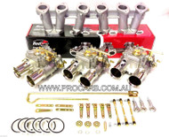 CHRYSLER 45DCOE FAJS ( Weber Repl, ) SLANT 6, 225 TRIPLE CARBURETTOR PACKAGE