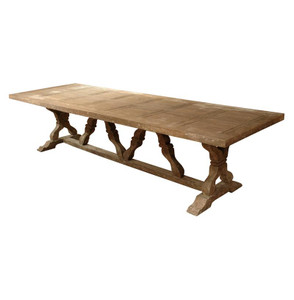 "Linley 126"" Trestle Dining Table"