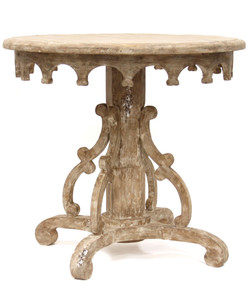 Italian Baroque Pedestal Table