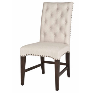 Wilshire Dining Chair In Rustic Java Set of 2