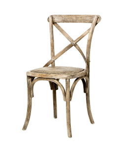 Parisienne Cafe Chair in Limed Grey Oak
