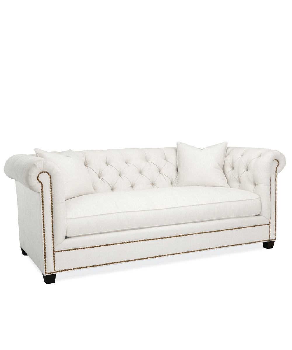 Awe Inspiring Hanne Chesterfield Sofa White Pabps2019 Chair Design Images Pabps2019Com