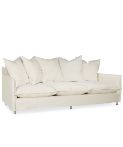 Malaga Scatterback Outdoor Sofa, Spinnaker Salt