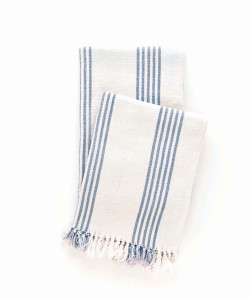 Ibiza Throw, French Blue