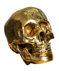 Gloden Grandfather Skull