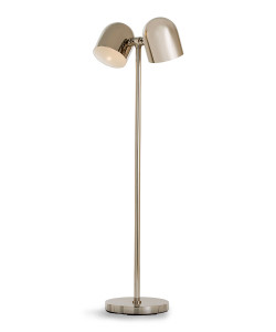 Jacoby Floor Lamp, Nickel