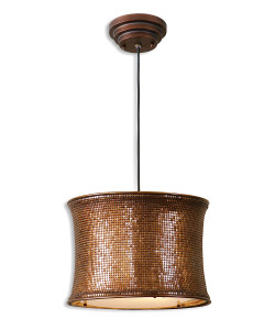Marcel Copper Hanging Shade Light