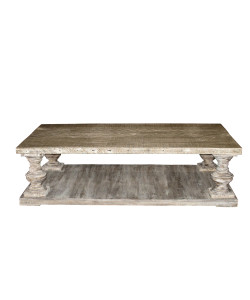 Coffee Table with a Medium Antique Painted Finish
