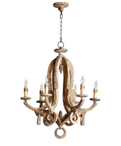 Galleon 6 Light Chandelier