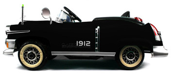 Classic 1912 Ride-On Car (Black)