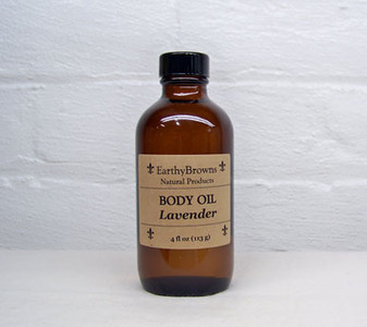 Body Oil Lavender